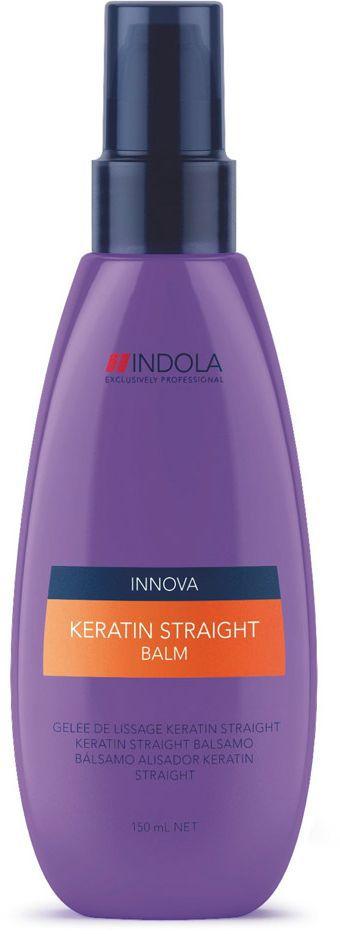 Indola Бальзам Кератиновое выпрямление Keratin Straight Balm 150 млFS-00897Indola Бальзам Кератиновое выпрямление. Содержащая кератин-полимер комплекс формула покрывает волосы защитным слоем, который выпрямляет и защищает волосы от завитков на 48 часов. Обеспечивает гладкость, блеск и здоровый вид. Для всех типов волос. Рекомендуется использовать в комплексе с шампунем Indola Keratin Straight.