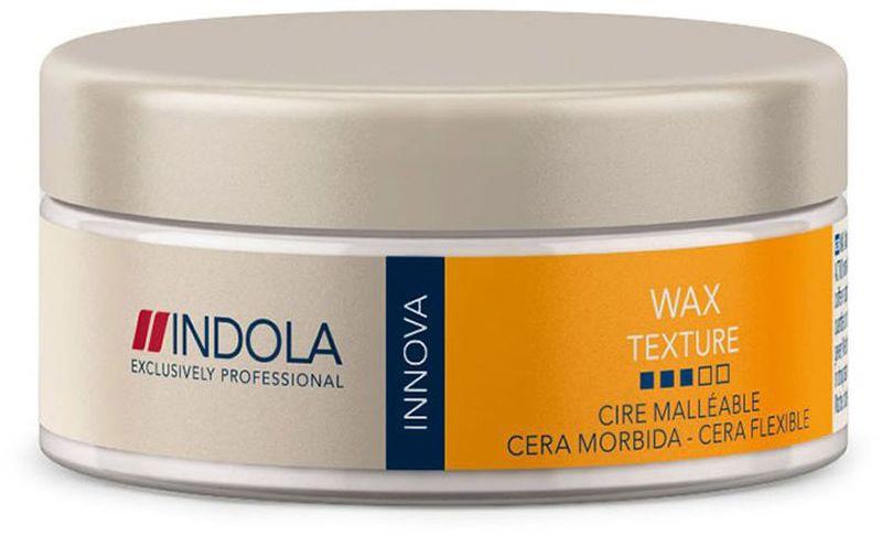 Indola Текстурирующий воск Texture Soft Wax 75 мл1849579Indola Текстурирующий воск. Содержит пчелиный воск и фильмформеры, обеспечивающие текстуру, блеск и естественную подвижность. Провитамин В5 помогает сохранить натуральный баланс влаги в волосах. Позволяет менять форму прически в течении дня. Предназначен для любого типа волос.
