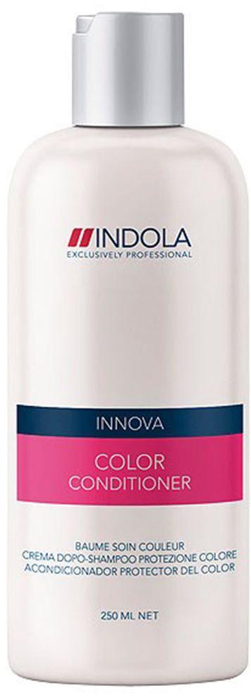 Indola Кондиционер для окрашенных волос Color Conditioner 250 мл1508036Indola Кондиционер для окрашенных волос. Обеспечивает длительное сохранение цвета окрашенных волос даже после 30-го мытья. Обогащен экстрактом минерала, защитным УФ-фильтром, гидролизованным кератином и маслом абрикосовых косточек. Усиливает внутреннюю структуру волоса, защищая его от УФ-лучей. Придает интенсивный и здоровый блеск волосам. Рекомендуется использовать в комплексе с шампунем Indola Color.