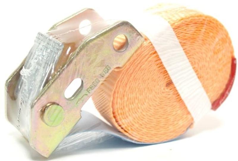 Стяжка для крепления груза Tplus, с фиксатором, со стальным замком, 600 кг, 7 мT001218Предельная рабочая нагрузка (WLL): 600 кг; Длина: 7 м; Ширина ленты: 25 мм; Материал ленты: полиэстер; Замок: сталь; Гарантия: 1 год.