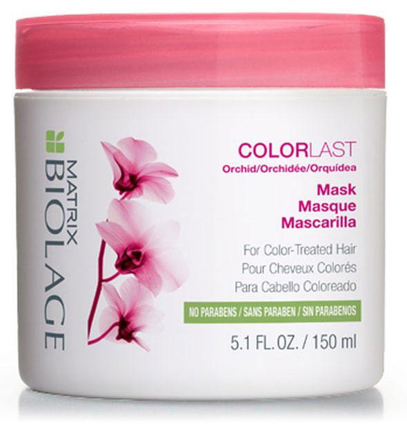 Matrix Biolage Colorlast Маска 150 млP0833000Для сохранения яркого цвета окрашенным волосам нужно интенсивное увлажнение. Маска Biolage COLORLAST™ (КолорЛаст) помогает сохранить глубину и яркость оттенка окрашенных волос, придавая им здоровый, сияющий вид. Волосы сохраняют насыщенный цвет до 9 недель* после окрашивания. Формула без парабенов. - Питает, обволакивая каждый волос на 360° - Придаёт волосам блеск и шелковистость - Формула без парабенов и силиконов создана специально для окрашенных волос. *При использовании системы из Колорласт шампуня и кондиционера по сравнению с шампунем без кондиционирующих свойств.