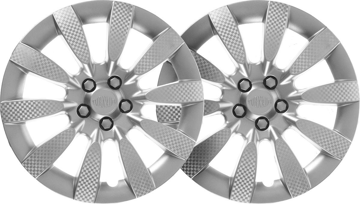 Колпаки колесные Airline Торнадо, цвет: серебристый, 13, 2 шт. AWCC-13-06PANTERA SPX-2RSКолпаки колесные Airline Торнадо изготовлены из ударопрочного полистирола, имеют модную текстуру, имитирующую карбон, покрашены в популярные цвета, а также стойкие к повышенным и пониженным температурам. Колпаки снабжены надежными универсальными креплениями, позволяющими обеспечивать равномерное распределение давления на все защелки. Колпаки Airline защитят тормозную систему от грязи, соли и реагентов, скроют изъяны штампованных дисков, тем самым украсив ваш автомобиль.