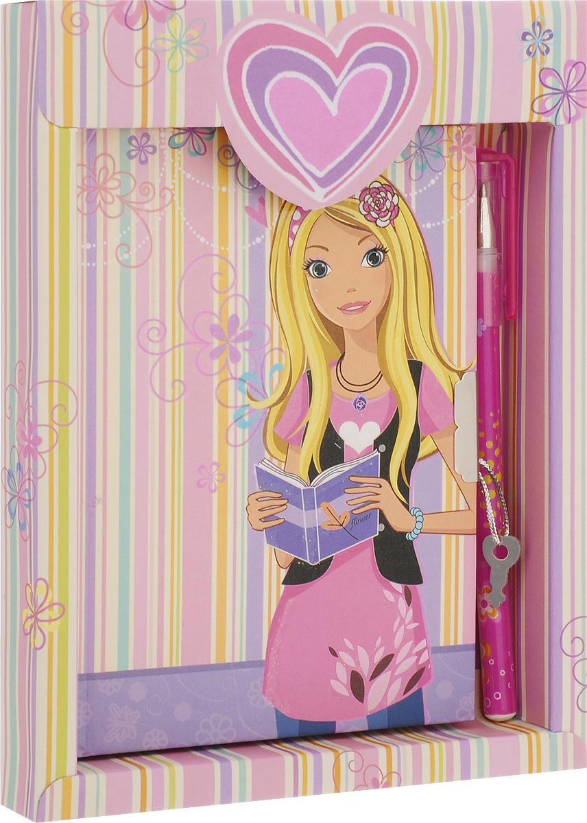 Brauberg Блокнот 60 листов в линейку цвет розовый фиолетовый 123563