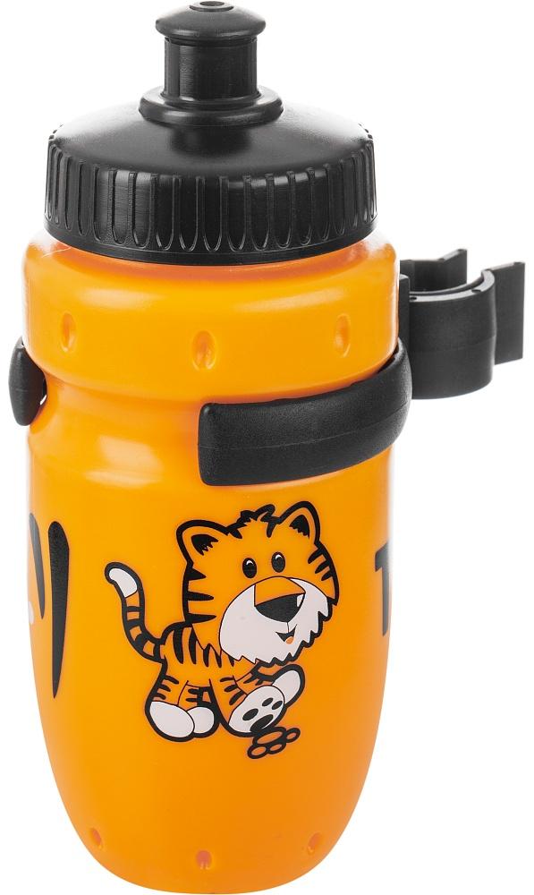 Фляга велосипедная Cyclotech, цвет: оранжевый, 350 мл1508160Детская питьевая фляга с держателем. Крепится на руль. Выполнена из пищевого пластика. Объем 350 мл.