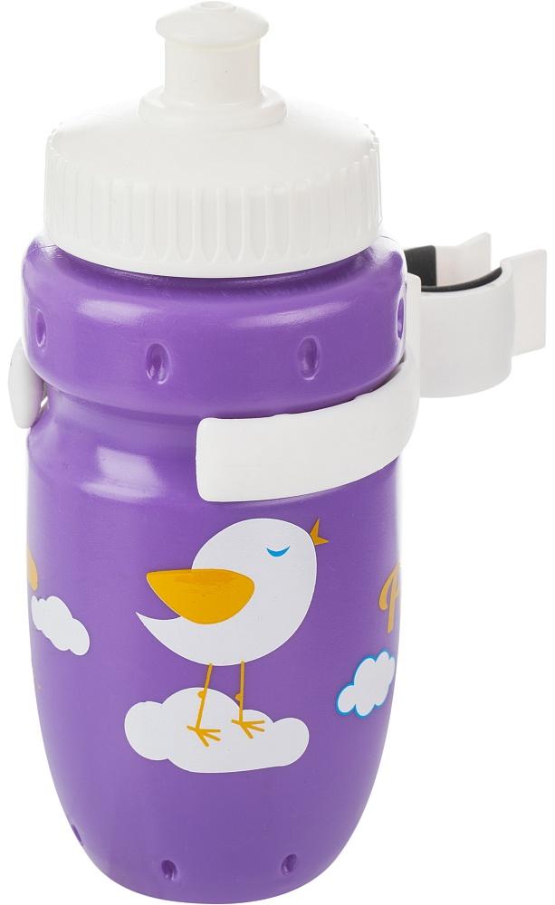 Фляга велосипедная Cyclotech, цвет: фиолетовый, 350 млCBS-1VINДетская питьевая фляга с держателем. Крепится на руль. Выполнена из пищевого пластика. Объем 350 мл.
