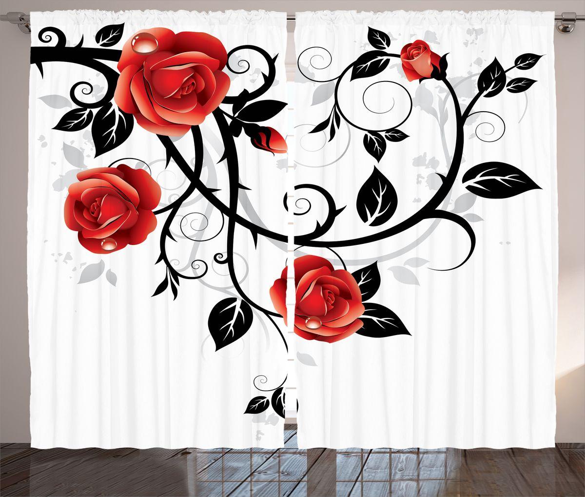 Комплект фотоштор Magic Lady Алые розы в росе, на ленте, высота 265 см. шсг_15439шсг_15439Компания Сэмболь изготавливает шторы из высококачественного сатена (полиэстер 100%). При изготовлении используются специальные гипоаллергенные чернила для прямой печати по ткани, безопасные для человека и животных. Экологичность продукции Magic lady и безопасность для окружающей среды подтверждены сертификатом Oeko-Tex Standard 100. Крепление: крючки для крепления на шторной ленте (50 шт). Возможно крепление на трубу. Внимание! При нанесении сублимационной печати на ткань технологическим методом при температуре 240°С, возможно отклонение полученных размеров (указанных на этикетке и сайте) от стандартных на + - 3-5 см. Производитель старается максимально точно передать цвета изделия на фотографиях, однако искажения неизбежны и фактический цвет изделия может отличаться от воспринимаемого по фото. Обратите внимание! Шторы изготовлены из полиэстра сатенового переплетения, а не из сатина (хлопок). Размер одного полотна шторы: 145х265 см. В комплекте 2...