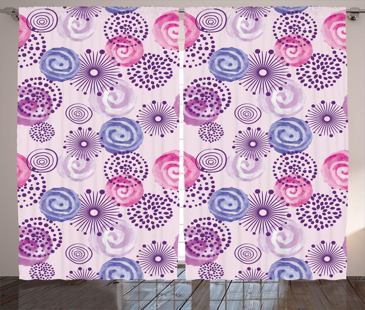 Комплект фотоштор Magic Lady Узор с цветными завитками, на ленте, высота 265 см. шсг_16806шсг_16806Компания Сэмболь изготавливает шторы из высококачественного сатена (полиэстер 100%). При изготовлении используются специальные гипоаллергенные чернила для прямой печати по ткани, безопасные для человека и животных. Экологичность продукции Magic lady и безопасность для окружающей среды подтверждены сертификатом Oeko-Tex Standard 100. Крепление: крючки для крепления на шторной ленте (50 шт). Возможно крепление на трубу. Внимание! При нанесении сублимационной печати на ткань технологическим методом при температуре 240°С, возможно отклонение полученных размеров (указанных на этикетке и сайте) от стандартных на + - 3-5 см. Производитель старается максимально точно передать цвета изделия на фотографиях, однако искажения неизбежны и фактический цвет изделия может отличаться от воспринимаемого по фото. Обратите внимание! Шторы изготовлены из полиэстра сатенового переплетения, а не из сатина (хлопок). Размер одного полотна шторы: 145х265 см. В комплекте 2...