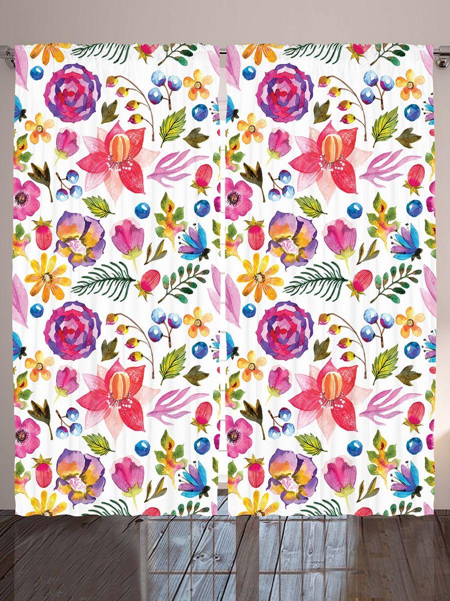 Комплект фотоштор Magic Lady Цветы и ягоды, на ленте, высота 265 см. шсг_9123шсг_9123Компания Сэмболь изготавливает шторы из высококачественного сатена (полиэстер 100%). При изготовлении используются специальные гипоаллергенные чернила для прямой печати по ткани, безопасные для человека и животных. Экологичность продукции Magic lady и безопасность для окружающей среды подтверждены сертификатом Oeko-Tex Standard 100. Крепление: крючки для крепления на шторной ленте (50 шт). Возможно крепление на трубу. Внимание! При нанесении сублимационной печати на ткань технологическим методом при температуре 240°С, возможно отклонение полученных размеров (указанных на этикетке и сайте) от стандартных на + - 3-5 см. Производитель старается максимально точно передать цвета изделия на фотографиях, однако искажения неизбежны и фактический цвет изделия может отличаться от воспринимаемого по фото. Обратите внимание! Шторы изготовлены из полиэстра сатенового переплетения, а не из сатина (хлопок). Размер одного полотна шторы: 145х265 см. В комплекте 2...