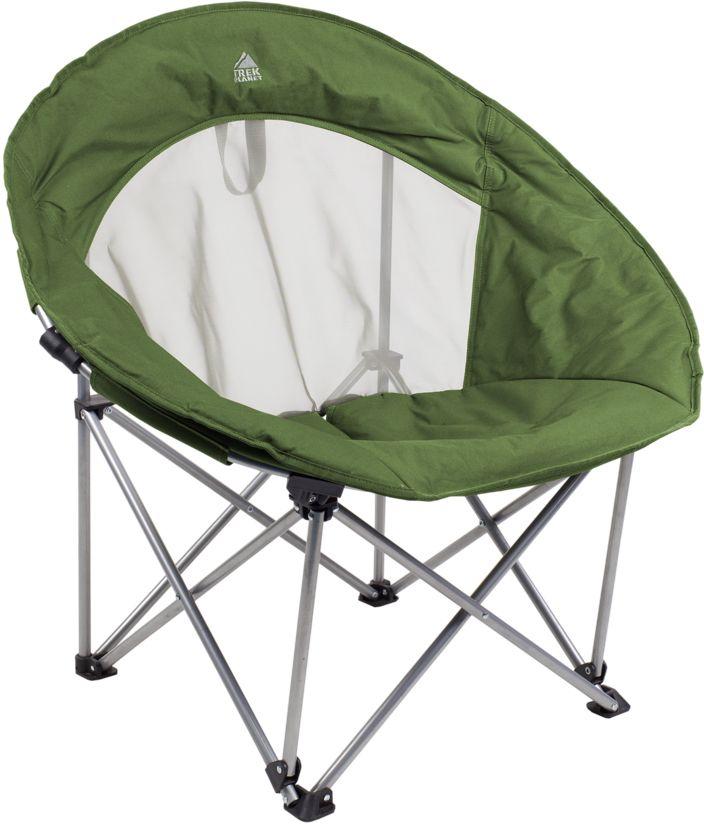 Кресло складное Trek Planet, цвет: зеленый, 43 см х 46 см х 82 смFC-214Хотите что-нибудь необычное для отдыха на природе? Выберите круглое кресло TREK PLANET  RANCHO. Форма кресла дает ощущение уюта и защищенности. Комфорт обеспечивает мягкая подбивка по периметру. Вставка из сетчатого материала на задней панели кресла обеспечивает вентиляцию в жаркую погоду. Прочный материал 600D полиэстер устойчив к ультрафиолетовому излучению и быстро сохнет. Пластиковая защита ножек предотвращает проваливание кресла в землю и песок. Кресло оснащено дополнительной лямкой на задней панели, для переноски в разложенном состоянии. В сложенном состоянии не занимает много места, комплектуется чехлом с лямкой для переноски. -Пластиковая защита ножек. - Сетчатый материал на спинке кресла обеспечивает вентиляцию. - Комфорт обеспечивает мягкая подбивка по периметру. - Петля на спинке для переноски кресла без чехла. -Защита от УФО. - Комплектуется чехлом с лямкой для хранения и переноски. Материал: 600D Polyester-...