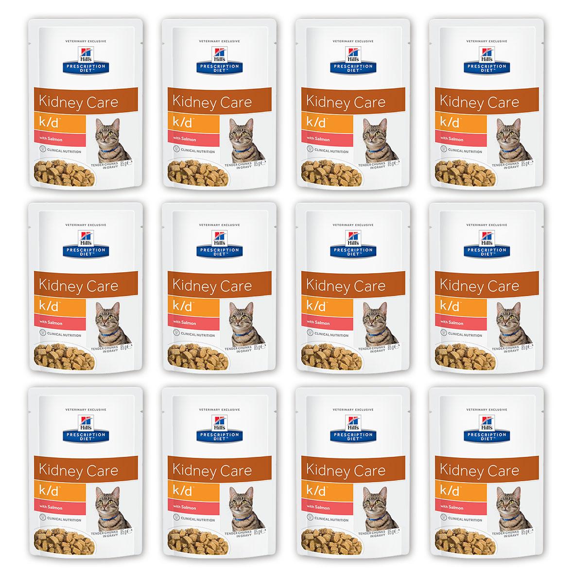 Консервы для кошек Hills Prescription Diet. K/D, при заболевании почек и урологическом синдроме, с лососем, 85 г, 12 шт3410_12Консервы для кошек Hills Prescription Diet. K/D рекомендуются при хронических заболеваниях почек, при заболеваниях сердца, при уратном и цистиновом уролитиазе. Не рекомендуется котятам, беременным и кормящим кошкам, кошкам с дефицитом натрия в организме. В 2-х летнем исследовании клинически доказано что у кошек, питавшихся рационом Hills Prescription Diet k/d Feline, значительно реже отмечались эпизоды уремии и снижался уровень смертности. Ключевые преимущества: - Сниженное содержание фосфора помогает замедлить развитие заболевания почек. - Контролируемое содержание протеина помогает снизить накопление токсичных продуктов белкового обмена, в то же время удовлетворяя потребность организма в протеинах. Уменьшает концентрацию в моче компонентов уратных и цистиновых уролитов. - Повышенное содержание непротеиновых калорий помогает обеспечить поступление энергии и не допускает катаболизма протеинов. - Повышенная буферная емкость...
