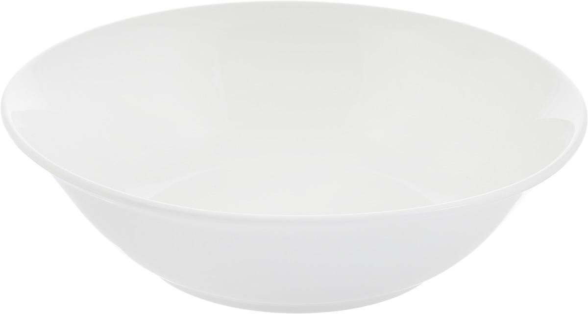 Салатник Ariane Прайм, 1,2 л115510Салатник Ariane Прайм изготовлен из высококачественного фарфора и имеет круглую форму. Такой салатник украсит сервировку вашего стола и подчеркнет прекрасный вкус хозяина, а также станет отличным подарком. Можно мыть в посудомоечной машине и использовать в микроволновой печи.Диаметр салатника по верхнему краю: 23 см.Высота салатника: 6,5 см.