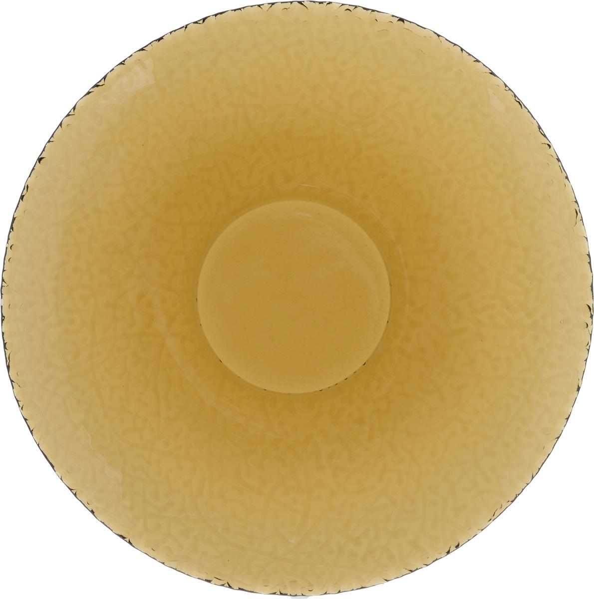 Тарелка NiNaGlass Ажур, цвет: дымчатый, диаметр 26 см83-071-Ф260 дымТарелка NiNaGlass Ажур выполнена из высококачественного стекла и имеет рельефную внешнюю поверхность. Она прекрасно впишется в интерьер вашей кухни и станет достойным дополнением к кухонному инвентарю. Тарелка NiNaGlass Ажур подчеркнет прекрасный вкус хозяйки и станет отличным подарком. Диаметр тарелки: 26 см. Высота: 3 см.