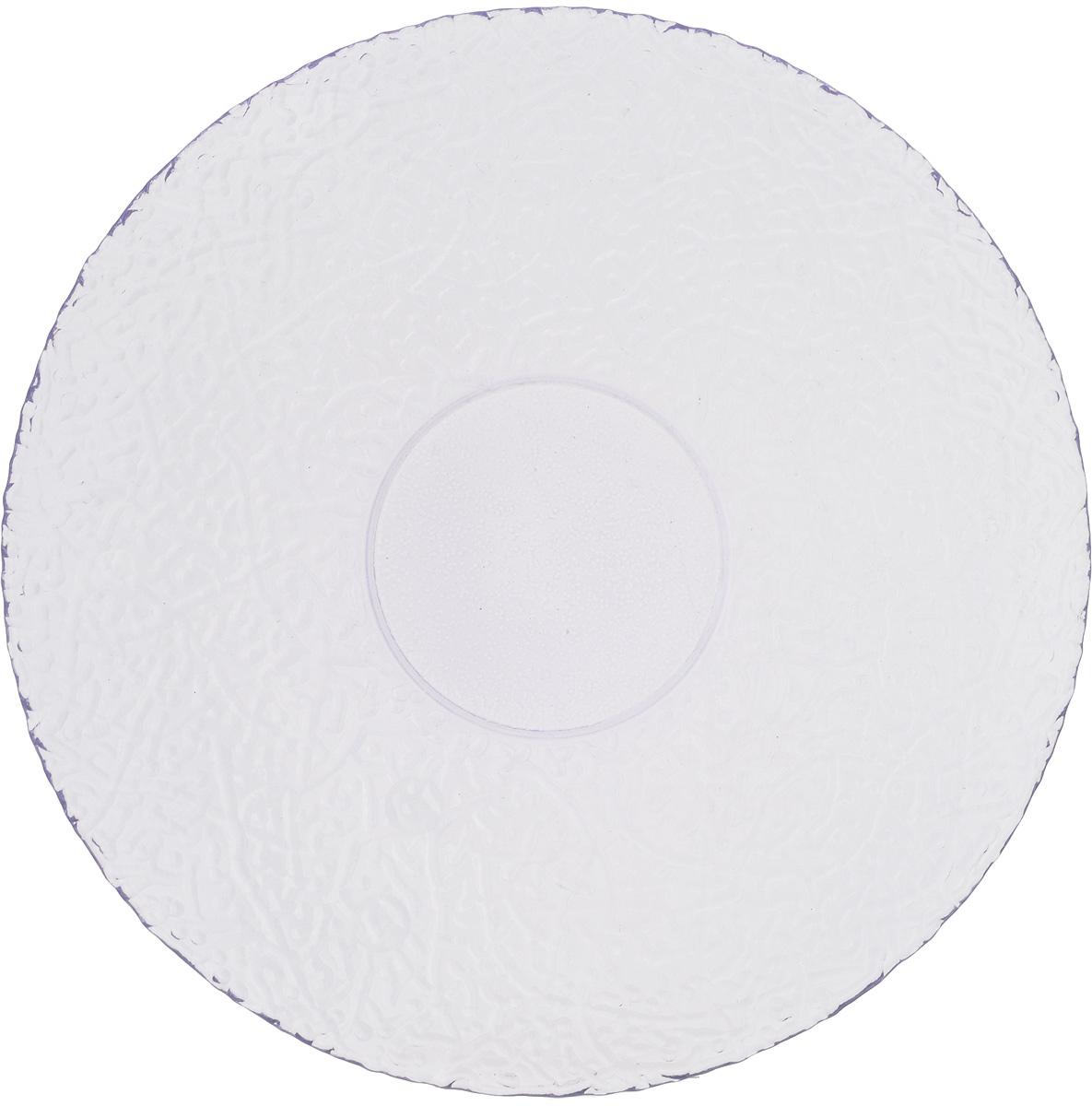 Тарелка NiNaGlass Ажур, цвет: светло-сиреневый, диаметр 26 см83-071-Ф260 ЛАВАНТарелка NiNaGlass Ажур выполнена из высококачественного стекла и имеет рельефную внешнюю поверхность. Она прекрасно впишется в интерьер вашей кухни и станет достойным дополнением к кухонному инвентарю. Тарелка NiNaGlass Ажур подчеркнет прекрасный вкус хозяйки и станет отличным подарком. Диаметр тарелки: 26 см. Высота: 3 см.