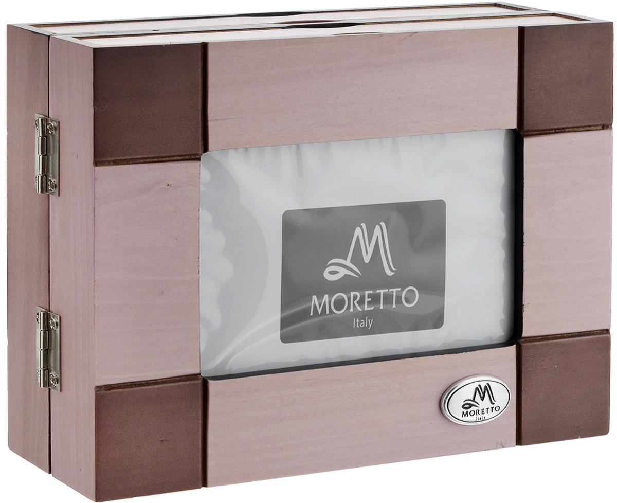 Фотоальбом архивный Moretto, на 48 фотографий 10 см х 15 см. 3818138181Оригинальный архивный фотоальбом Moretto, рассчитанный на 48 фотографий, выполнен в виде деревянного бокса нежно-розового цвета. Бокс содержит два альбома, каждый из которых рассчитан на 24 фотографии. Такой архивный альбом станет достойным украшением вашего интерьера и будет уникальным подарком вашим друзьям. Размер бокса (в сложенном виде): 18,5 х 6,5 х 14 см. Размер фотографии: 10 х 15 см. Количество фотографий: 48 шт.