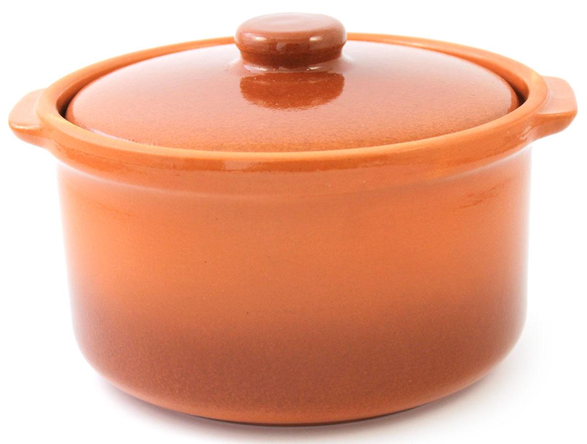 Кастрюля керамическая Ломоносовская керамика с крышкой, цвет: коричневый, 1 л1ГС3-2Кастрюля Ломоносовская керамика выполнена из высококачественной глины. Покрытие абсолютно безопасно для здоровья, не содержит вредных веществ. Кастрюля оснащена удобными боковыми ручками и керамической крышкой. Она плотно прилегает к краям посуды, сохраняя аромат блюд.