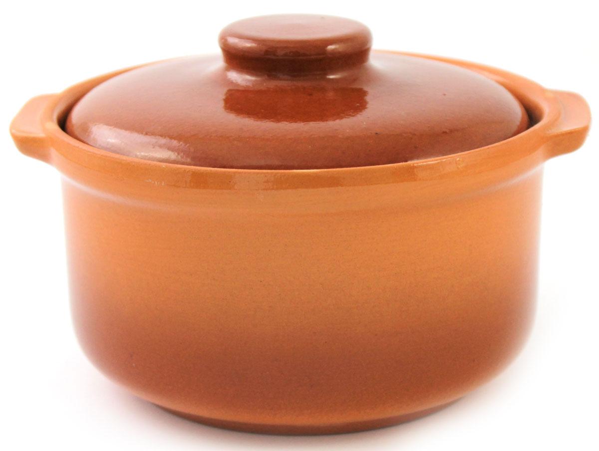 Кастрюля керамическая Ломоносовская керамика с крышкой, цвет: коричневый, 800 мл1ГС3-5Кастрюля Ломоносовская керамика выполнена из высококачественной глины. Покрытие абсолютно безопасно для здоровья, не содержит вредных веществ. Кастрюля оснащена удобными боковыми ручками и керамической крышкой. Она плотно прилегает к краям посуды, сохраняя аромат блюд.