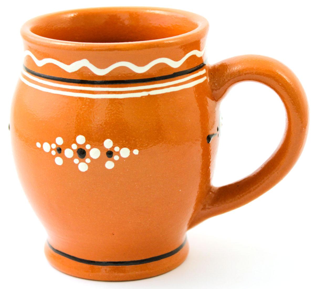Кружка для кваса Ломоносовская керамика Оятские мотивы, 500 мл115610Кружка для кваса Ломоносовская керамика Оятские мотивы выполнена из высококачественной глины и оформлена оригинальным рисунком. Такая кружка прекрасно оформит стол и станет его неизменным атрибутом.