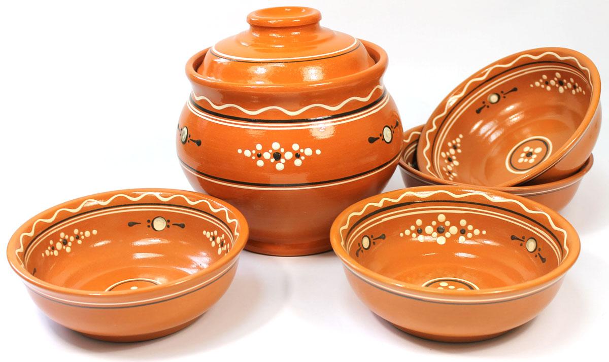 Набор для супа Ломоносовская керамика, 5 штЛ0880