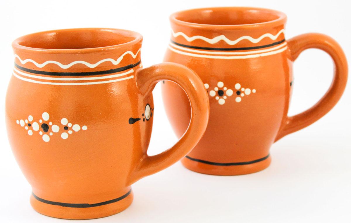 Набор кружек для кваса Ломоносовская керамика, 2 штЛ0877