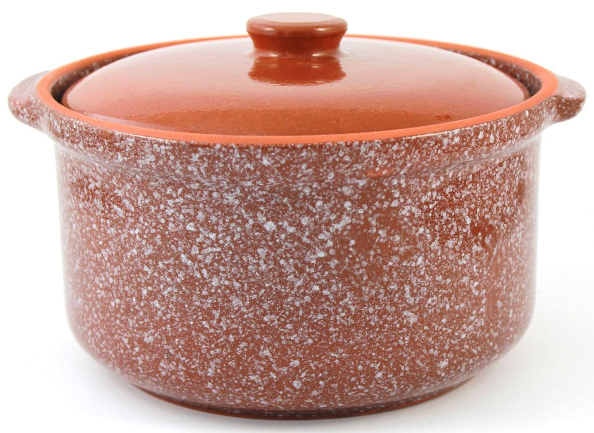 Кастрюля керамическая Ломоносовская керамика с крышкой, цвет: коричневый мрамор, 2 л1ГС3мк-3Кастрюля Ломоносовская керамика выполнена из высококачественной глины. Покрытие абсолютно безопасно для здоровья, не содержит вредных веществ. Кастрюля оснащена удобными боковыми ручками и керамической крышкой. Она плотно прилегает к краям посуды, сохраняя аромат блюд.