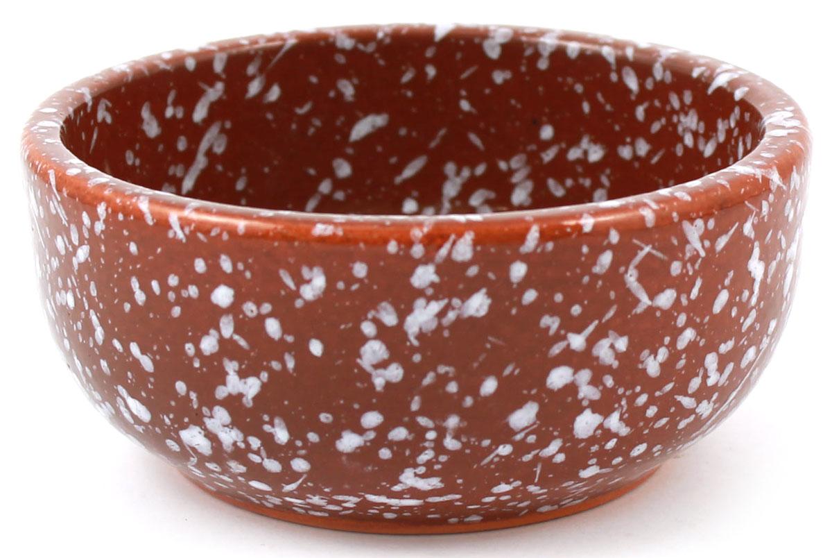 Розетка Ломоносовская керамика, 0,15 л, мрамор. Цвет: коричневый. 1Р3мк-11Р3мк-1