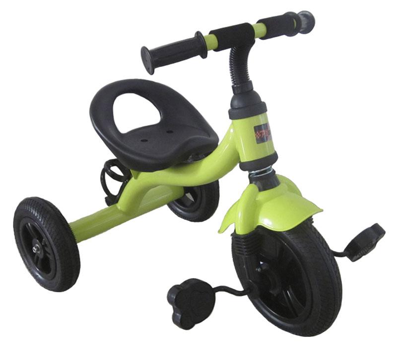 Pit Stop Велосипед детский трехколесный цвет светло-зеленый MT-BCL0815008MT-BCL0815008Яркий дизайн. Надувные колеса. Держатель для бутылки. Цвет: светло-зеленый.