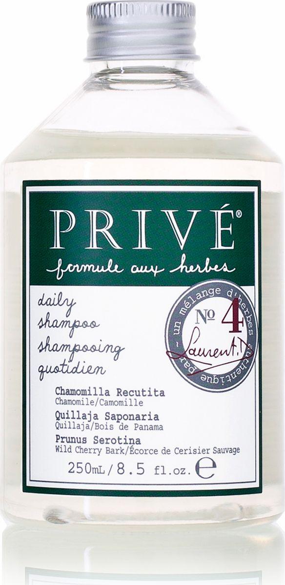Prive Шампунь для ежедневного мытья волос, 250 млPRV4912776Шампунь Prive прекрасно увлажняет волосы, не утяжеляя их, защищает от вредных факторов окружающей среды. Экстракт ромашки, коры килайи, смесь трав обеспечивают нежное очищение нормальных, жирных волос. Шампунь делает волосы здоровыми и блестящими. Сохраняет цвет окрашенных волос. Ромашка смягчает и увлажняет. Кора килайи защищает от вредного воздействия окружающей среды, дает объем, делая волосы податливыми. Характеристики: Объем: 250 мл. Артикул: PRV4912776. Производитель: США. Товар сертифицирован.