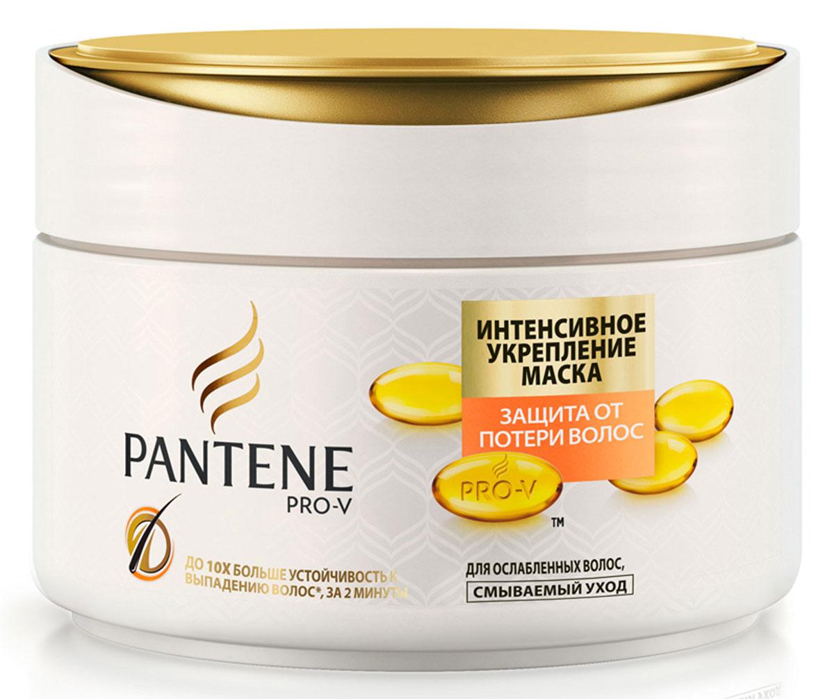 Pantene Pro-V Маска для волос Защита от потери волос. Интенсивное укрепление, 200 мл81570279Маска Pantene Pro-V Защита от потери волос. Интенсивное укрепление - это интенсивный уход для волос, склонных к ломкости.