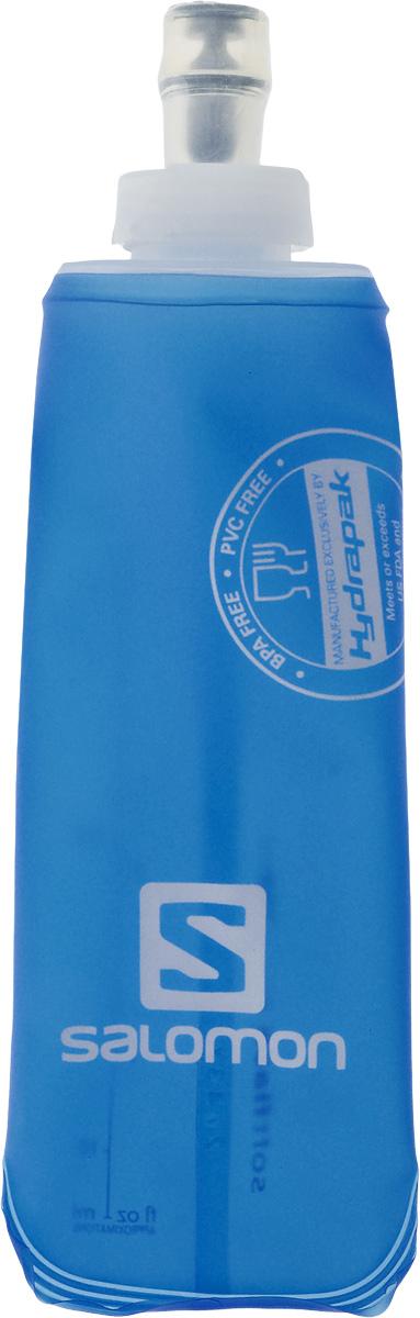 Бутылка спортивная Salomon Soft Flask, 250 мл97415BБутылка Salomon Soft Flask изготовлена из 100% мягкого термополиуретана. Изделие предназначено для использования во время занятий спортом. Бутылка сжимается, когда вы из нее пьете, тем самым уменьшая колебание воды. Благодаря специальной насадке вы не прольете ни капли мимо. Изделие снабжено отметками литража.