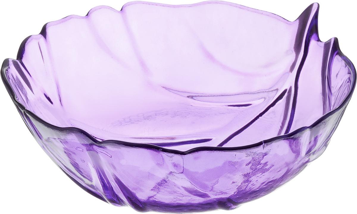 Салатник NiNaGlass Флори, цвет: лиловый, диаметр 2083-033-Ф200 ЛИЛСалатник NiNaGlass Флори выполнен из высококачественного стекла и декорирован рельефным узором. Он подойдет для сервировки стола, как для повседневных, так и для торжественных случаев. Такой салатник прекрасно впишется в интерьер вашей кухни и станет достойным дополнением к кухонному инвентарю. Подчеркнет прекрасный вкус хозяйки и станет отличным подарком. Диаметр салатника (по верхнему краю): 20 см. Высота: 8 см.