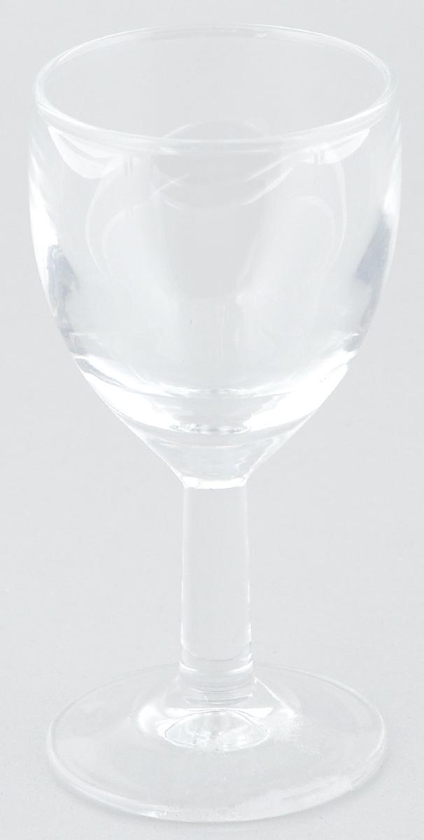 Рюмка ОСЗ Патио, 50 мл12с1633Рюмка ОСЗ Патио изготовлена из бесцветного стекла. Идеально подходит для крепких спиртных напитков. Такая рюмка станет отличным дополнением сервировки стола. Диаметр рюмки (по верхнему краю): 4,5 см. Высота рюмки: 9,5 см.