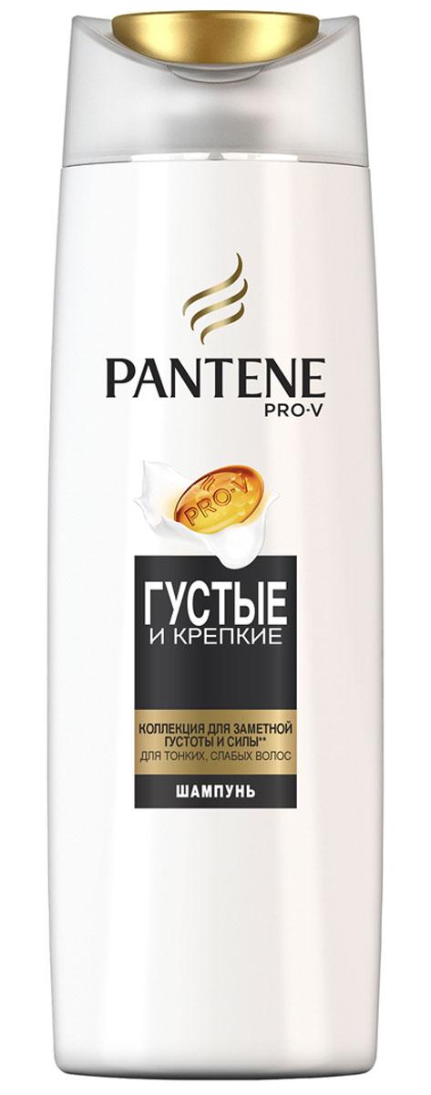Pantene Pro-V Шампунь Густые и крепкие, 250 мл81601067Ухаживающая коллекция Pantene Pro-V Густые и крепкие включает активные вещества, действующие на микроуровне, которые придают объем и укрепляют защиту волос от повреждений при укладке. Для наилучших результатов используйте с бальзамом-ополаскивателем и средствами для ухода за волосами Pantene Pro-V Густые и крепкие.