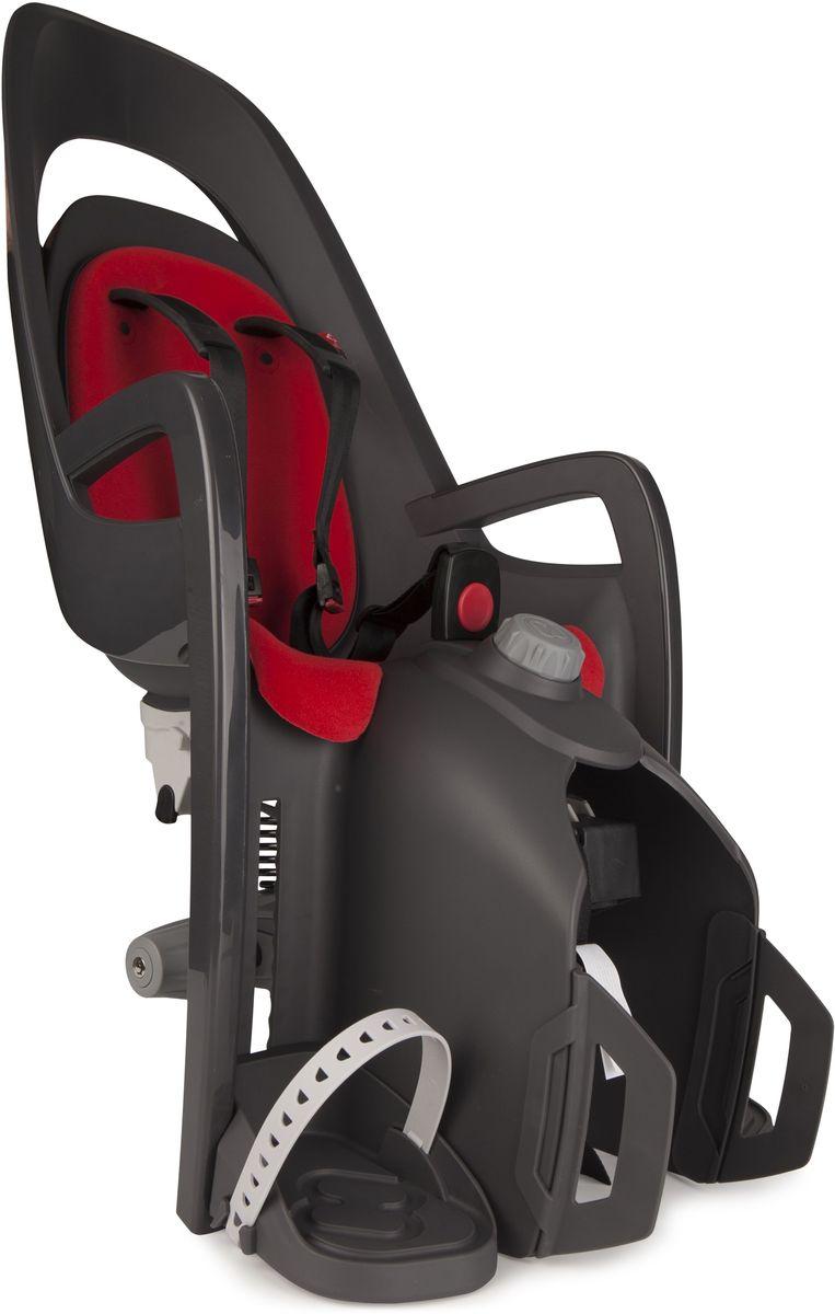 Детское велокресло Hamax Caress W/Carrier Adapter, цвет: серый, красный553013Детское кресло, которое можно установить на велосипед с рамой 28-40 мм Адаптер для установки в комплекте Может быть установлен на электровелосипед Вес ребенка: не более 25-30 кг. Рост ребенка: 120-180 см Есть положение сон Диаметр труб: 10-20 мм Простой монтаж
