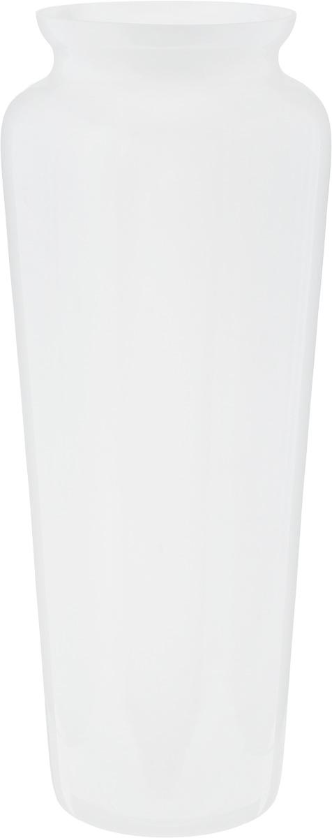 Ваза NiNaGlass Диана, цвет: белый, высота 38 смFS-91909Ваза NiNaGlass Диана, выполненная из высококачественного стекла, имеет изысканный внешний вид. Такая ваза станет ярким украшением интерьера и прекрасным подарком к любому случаю.Не рекомендуется мыть в посудомоечной машине.Высота вазы: 38 см.Диаметр вазы (по верхнему краю): 12 см.