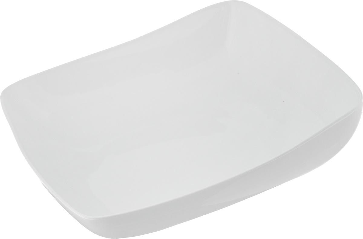 Салатник Ariane Vital Square, 3,5 лAVSARN22031Салатник Ariane Vital Square, изготовленный из высококачественного фарфора с глазурованным покрытием, имеет приподнятый край и прекрасно подойдет для подачи различных блюд: закусок, салатов или фруктов. Такой салатник украсит ваш праздничный или обеденный стол. Можно мыть в посудомоечной машине и использовать в микроволновой печи. Размер салатника (по верхнему краю): 31 х 31 см. Максимальная высота салатника: 10,5 см. Объем салатника: 3,5 л.