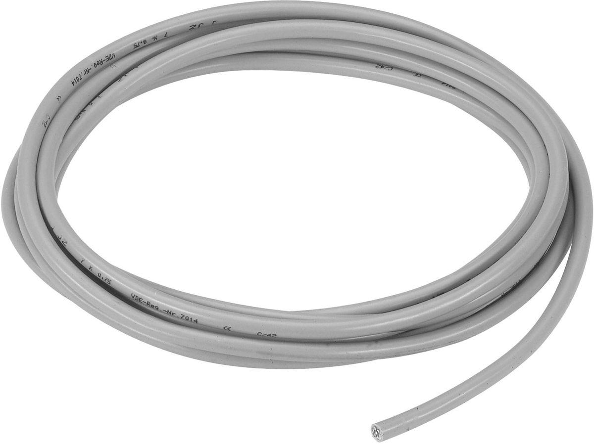 Соединительный кабель Gardena, 24 В. 01280-20.000.0001280-20.000.00Соединительный кабель 24 В GARDENA предназначен для присоединения не более шести клапанов для полива 24 В GARDENA (арт. 1278-20) к системе управления поливом 4040 modular Comfort (арт. 1276-20) и дополнительному модулю 2040 (арт. 1277-20), а также к системам управления поливом 4030 Classic и 6030 Classic (арт. 1283-20, 1284-20). Максимальная длина кабеля 30 м, максимальное напряжение 30 В. Длина соединительного кабеля 24 В GARDENA составляет 15 м, площадь поперечного сечения 7 х 0,5 мм2.