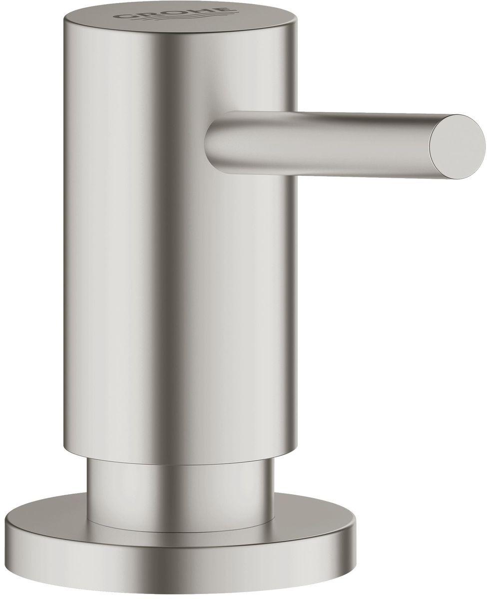 Дозатор для жидкого мыла Grohe Cosmopolitan, встраиваемый в столешницу, 400 мл40535DC0Дозатор для жидкого мыла Grohe Cosmopolitan идеален для современных ванных комнат, его геометрические формы и чистые линии играют ключевую роль. В серии Cosmopolitan вы сможете найти несколько смесителей для ванной и кухни, но также вы сможете найти много аксессуаров, которые смогут внести последний штрих в дизайн ванной.