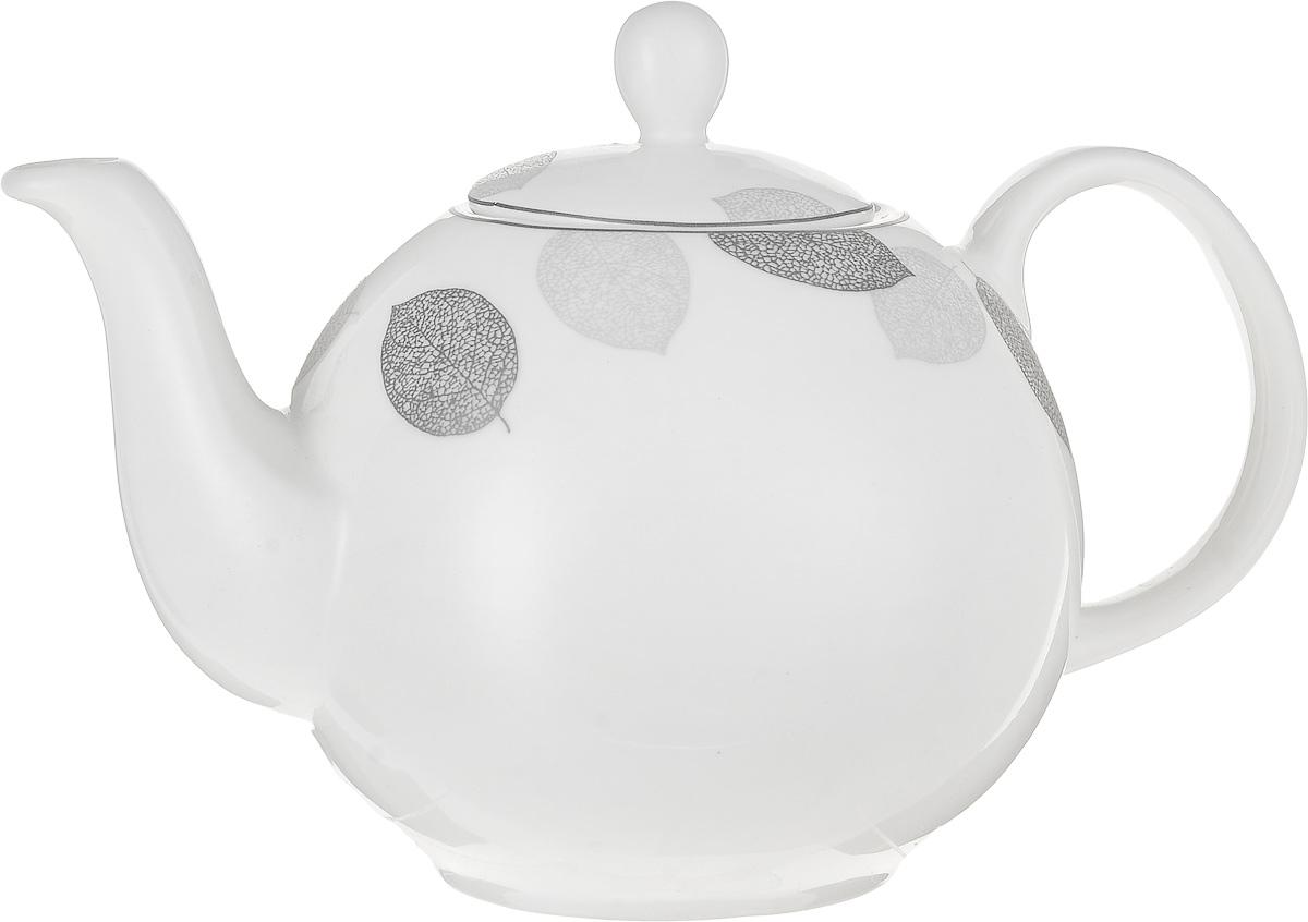 Чайник заварочный Esprado Bosqua Platina, 1,22 лBPLL12SE306Чайник заварочный Esprado Bosqua Platina изготовлен из высококачественного костяного фарфора с глазурованным покрытием, которое обеспечивает легкую очистку. Изделие прекрасно подходит для заваривания вкусного и ароматного чая, а также травяных настоев. Оригинальный дизайн сделает чайник настоящим украшением стола. Он удобен в использовании и понравится каждому. Можно мыть в посудомоечной машине и использовать в микроволновой печи. Диаметр чайника (по верхнему краю): 7,5 см. Высота чайника (без учета крышки): 12 см. Высота чайника (с учетом крышки): 16 см.