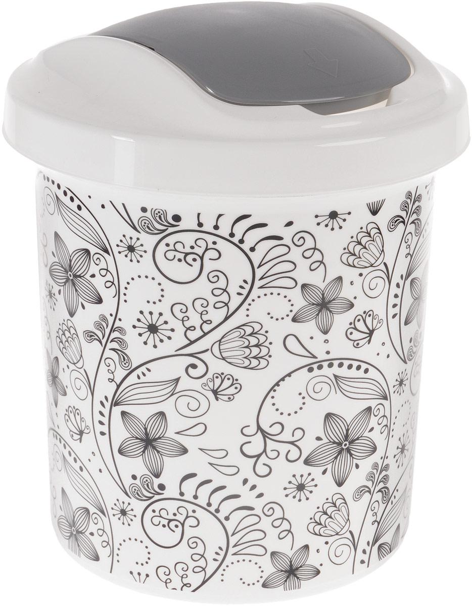 Контейнер для мусора Svip Ориджинал. Кружева, 12 лSV4106КРЖМусорный контейнер Svip Ориджинал. Кружева поможет поддержать порядок и чистоту на кухне, в туалетной комнате или в офисе. Изделие, выполненное из полипропилена, оформлено цветочным узором. Изделие оснащено крышкой с двойным механизмом открывания, что обеспечивает максимально удобное использование: откидной крышкой можно воспользоваться при выбрасывании большого мусора, крышкой-маятником - для мусора меньшего объема. Скрытые борта в корпусе изделия для аккуратного использования одноразовых пакетов и сохранения эстетики изделия. Съемная верхняя часть контейнера обеспечивает удобство извлечения накопившегося мусора. Эстетика изделия превращает необходимый предмет кухни или туалетной комнаты в стильное дополнение к интерьеру. Его легкость и прочность оптимально решают проблему сбора мусора.