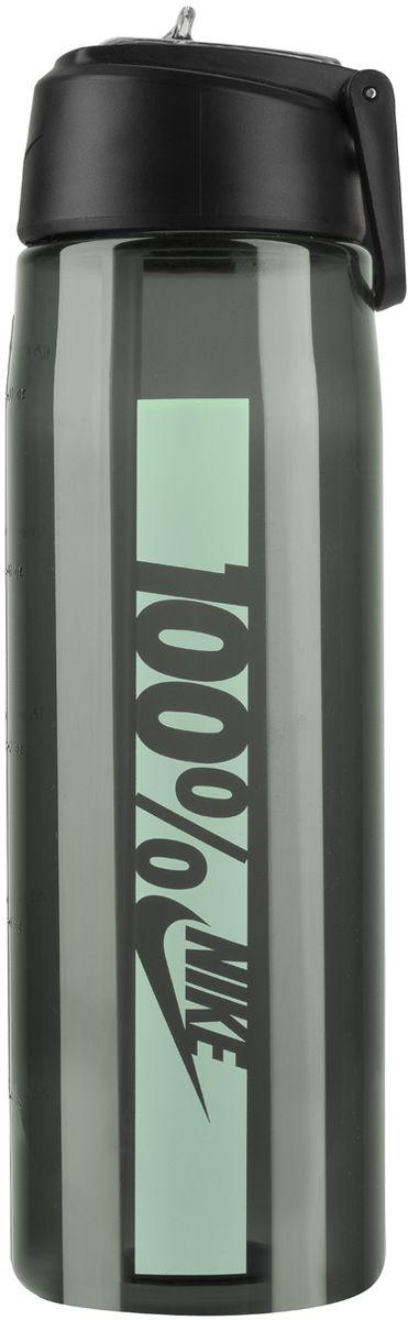Бутылка для воды Nike Core Flow 100 Water Bottle 24oz, цвет: темно-серый, мятный, 709 мл1011 01 105Бутылка для воды Nike Core Flow 100 Water Bottle 24oz с горлышком, которое поднимается на 90 градусов, что обеспечивает простоту в использовании.Бутылка дополнена измерительной шкалой. Возможно мытье в посудомоечной машине, легко собирается и разбирается.Технология материала Tritan обеспечивает долговечность и ударопрочность.Объем: 709 мл.Высота: 23 см.Диаметр (по нижнему краю): 7 см.
