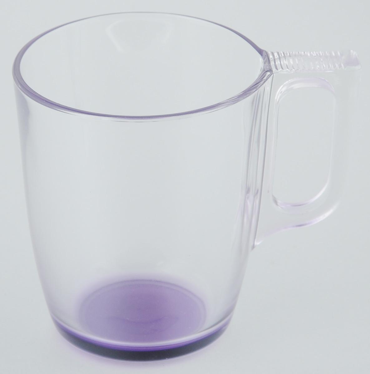 Кружка Luminarc, 250 млJ3707Кружка Luminarc, изготовленная из прочного темного стекла, прекрасно подойдет для подачи горячих и холодных напитков. Она дополнит коллекцию вашей кухонной посуды и будет служить долгие годы. Диаметр кружки (по верхнему краю): 7,3 см. Высота кружки: 8 см.