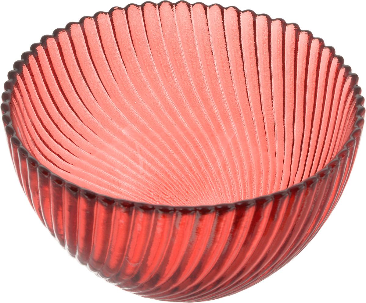 Салатник NiNaGlass Альтера, цвет: рубиновый, диаметр 12 см83-036-ф120 РУБСалатник NiNaGlass Альтера изготовлен из прочного стекла. Идеально подходит для сервировки стола. Салатник не только украсит ваш кухонный стол и подчеркнет прекрасный вкус хозяйки, но и станет отличным подарком. Диаметр салатника (по верхнему краю): 12 см. Высота салатника: 7,5 см.