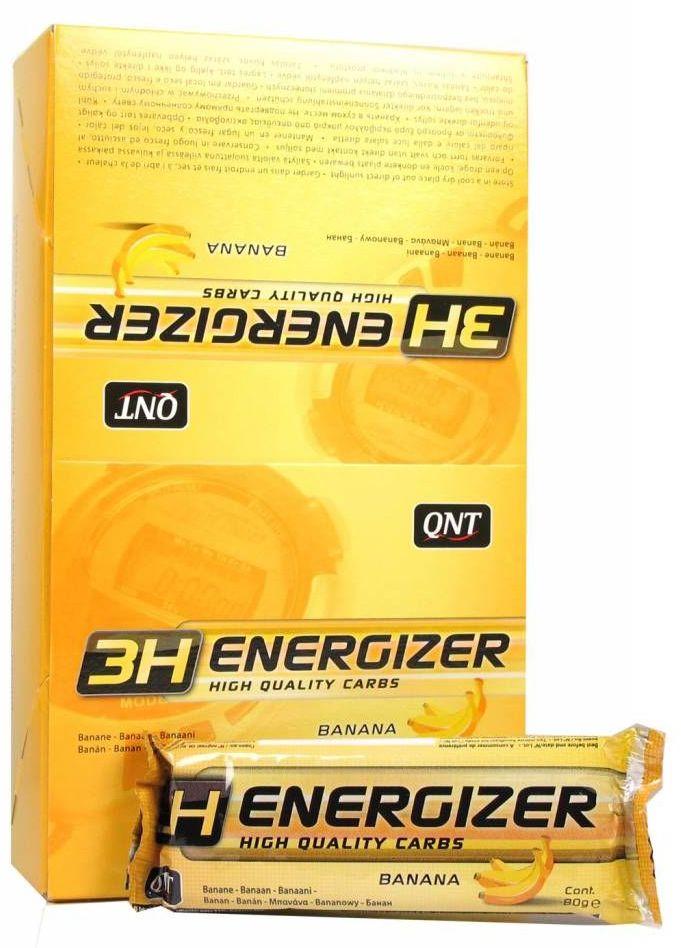 QNT Энергетический тортик Energizer Bar 3H, банан, 80 г QNT1055