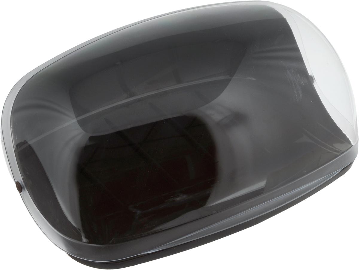 Хлебница Idea, цвет: коричневый, прозрачный, 36 х 27,5 х 16VT-1520(SR)Хлебница Idea изготовлена из пищевого пластика и оснащена прозрачной открывающейся крышкой. Вместительность, функциональность и стильный дизайн позволят хлебнице стать не только незаменимым предметом на кухне, но дополнением интерьера. Хлебница сохранит хлеб свежим и вкусным.