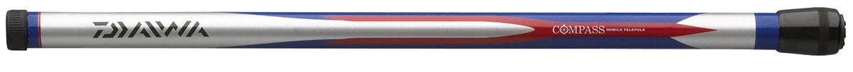 Удилище без колец Daiwa Compass Mobile Telepole, 3 мeTrex20xТелескопические маховые удилища с короткими коленами. Всобранном состоянии длина составляет всего 40 см, что позволит вамвзять удилище в любое путешествие. Бланк из графитового материаладелает удилище легким, но исключительно прочным.