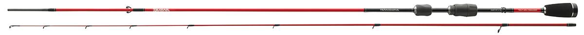 Спиннинг штекерный Daiwa TD Trout Area Commander, 2,15 м, 0,5-6 гBP-001 BKМощное удилище для ловли окуня, голавля и форели. Модель 2,4м также может бытьиспользована для спиннинговой ловли с крупными воблерами.Мягкая вершинка отлично отрабатывает рывки крупной рыбой. Сэтим удилищем вы всегда будете контролировать ситуацию. Длиннаяверхняя часть обеспечивает оптимальный рычаг, который вы можетес успехом применять во время вываживания крупного хищника.