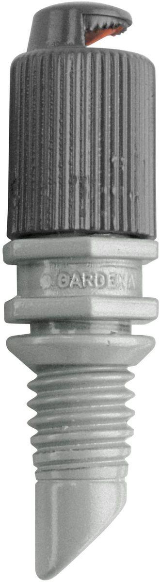 Микронасадка Gardena, 180*, 5 шт. 01367-29.000.0001367-29.000.00Микронасадка 180° GARDENA является элементом системы микрокапельного полива GARDENA Micro-Drip-System и предназначена для мелкодисперсного орошения грядок. Дальность полива микронасадки составляет около 3 м. Повысить уровень расположения микронасадки можно с помощью надставки (арт. 1377-20). Дальность действия микронасадки также регулируется с помощью запорного крана (арт. 1374-20). Микронасадка охватывает сектор в 180°. В комплект поставки входят пять микронасадок.