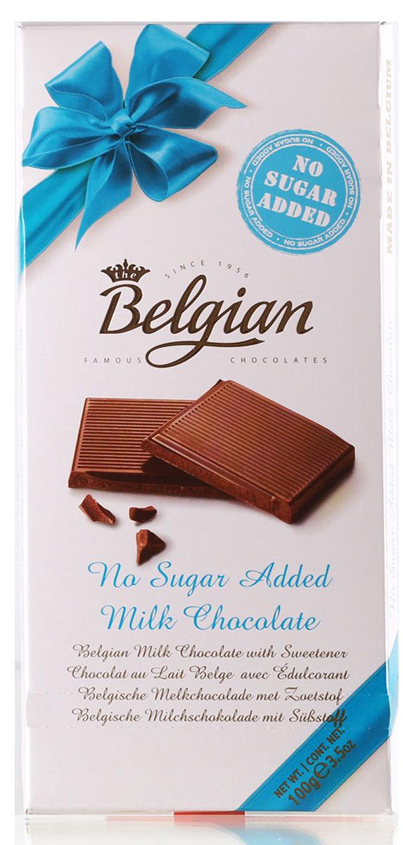 The Belgian Шоколад молочный без сахара, 100 г7.33.10Обожаете эксклюзивные сладости без сахара? Тогда плитка молочного бельгийского шоколада украсит ваши будни и станет роскошным лакомством – абсолютно безвредным и диетическим.