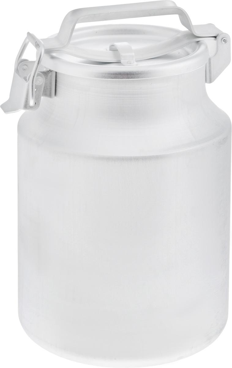 Бидон Scovo, 10 л. МТ-002/С-228VT-1520(SR)Бидон Scovo, выполненный из высококачественного алюминия, используют для хранения жидкостей, в основном молока, и сыпучих продуктов. Благодаря резиновой прокладке и прочному замку, крышка изделия герметично закрывается. Бидон оснащен ручкой для удобной переноски. Объем 10 литров. Диаметр бидона (по верхнему краю): 17 см.Высота бидона (без учета крышки): 32 см.Диаметр основания: 20 см.