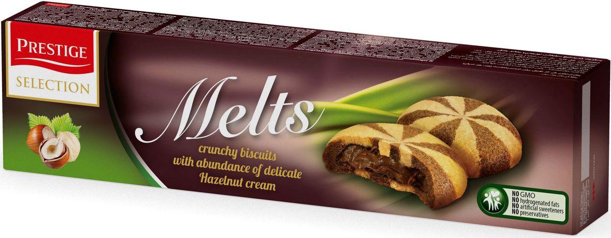 Prestige Печенье с пралине, 134 г3.58.08Шоколадное печенье с нежной начинкой пралине Prestige.